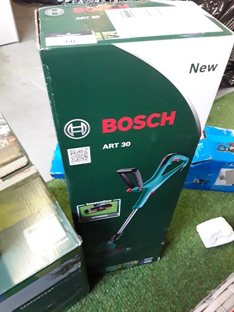 Lot 60 BOXED BOSCH ART 30 550W GRASS STRIMMER  RRP £62.00