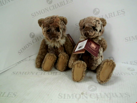 Lot 1333 2 CHARLIES BEARS BENNY CHARACTORS
