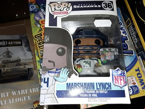 Lot 6067 POP FOOTBALL MARSHAWN LYNCH