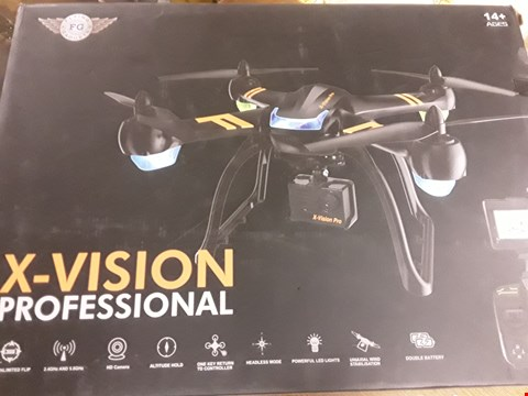 Lot 922 X-VISION PROFESSIONAL DRONE WITH HD CAMERA