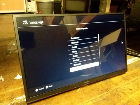 "Lot 75 SONY 32"" FULL HD TELEVISION MODEL: KDL32WE613BU"