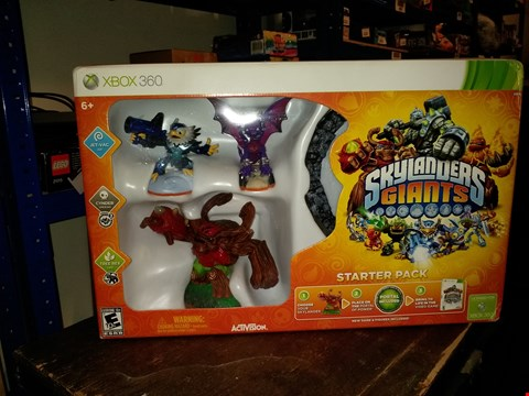 Lot 4761 SKYLANDERS GIANTS STARTER PACK FOR XBOX 360