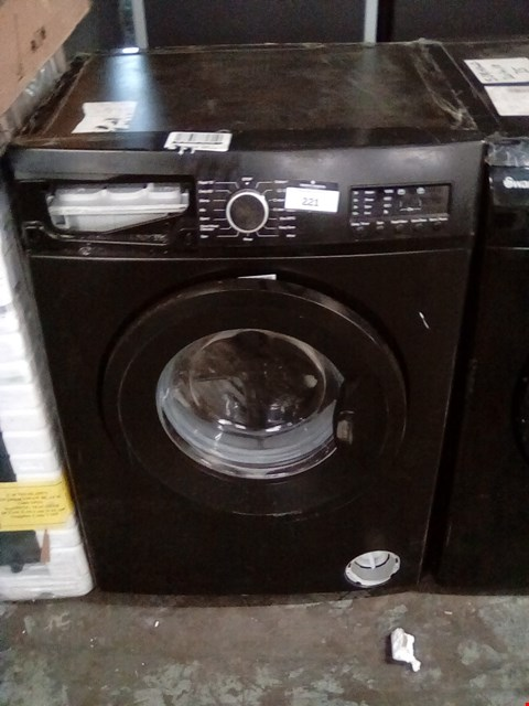 Lot 221 SWAN SW2051B BLACK 7KG 1200 SPIN WASHING MACHINE RRP £359