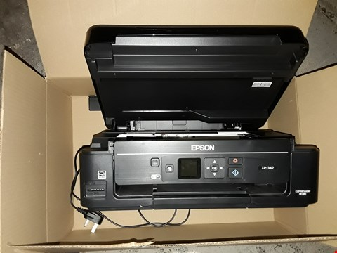 Lot 751 2X EPSON XP-342 WIFI PRINTER