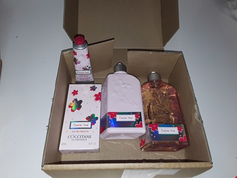 Lot 503 L'OCCITANE CERISIER LRISE TOILETRIES SET