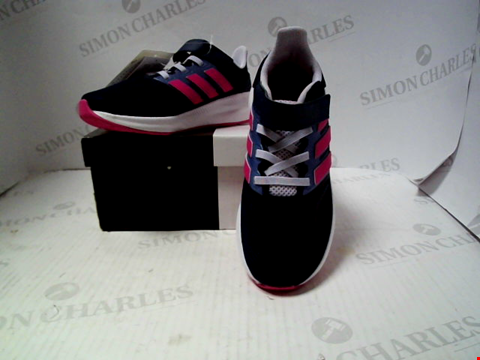 Lot 16113 BOXED PAIR OF DESIGNER ADIDAS TRAINERS - UK KIDS SIZE 11