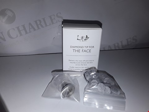 Lot 882 ×2 DIAMOND TIP FOR THE FACE REMOVES DULL SKIN ACROSS THE FACE