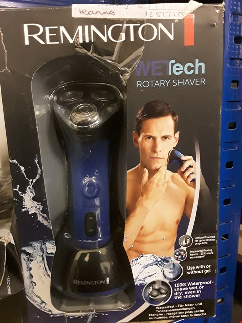 Lot 4974 BOXED REMMINGTON WETECH ROTARY CORDLESS GENTS SHAVER MODEL AQ7