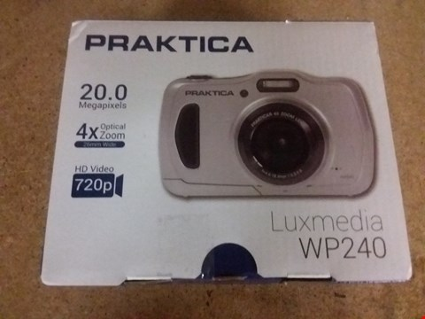 Lot 2572 PRAKTICA LUXMEDIA WP240 WATERPROOF CAMERA RRP £159.99