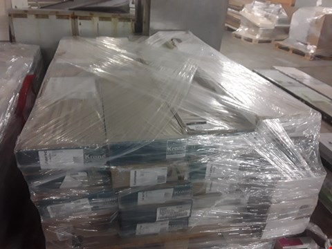 Lot 903 PALLET OF APPROXIMATELY 20 PACKS OF ASSORTED LAMINATE FLOORING TO INCLUDE KRONO ORIGINAL AND FARNBOROUGH ETC