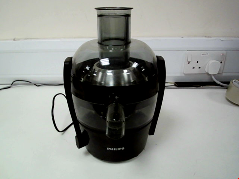 Lot 15065 PHILIPS VIVA COLLECTION JUICER HR1832, NO BOX