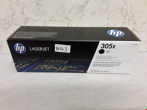 Lot 4033 HP LASERJET 305X BLACK PRINT CARTRIDGE