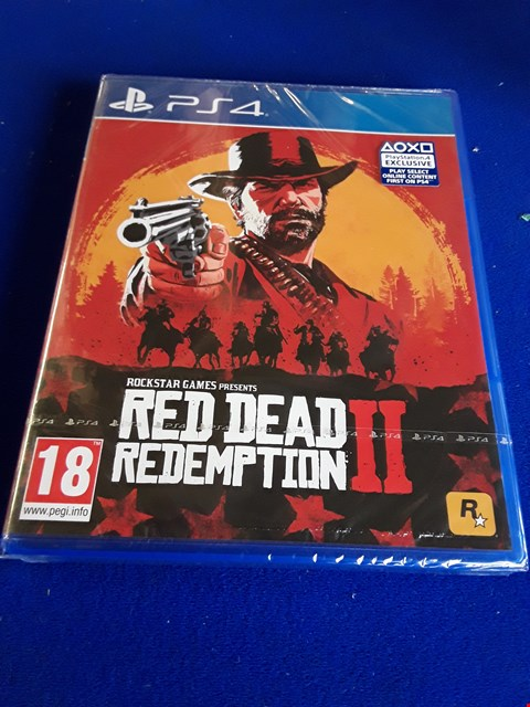 Lot 7647 RED DEAD REDEMPTION II PLAYSTATION 4 GAME