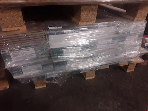 Lot 904 PALLET OF APPROXIMATELY 15 PACKS OF ASSORTED LAMINATE FLOORING TO INCLUDE BSLTERIO AND KRONO FLOORING