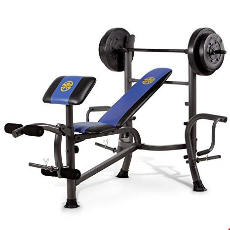 Lot 120 BOXED MARCY MWB-36780B WEIGHT BENCH (1 BOX)  RRP £249.99