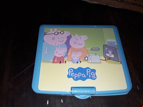 Lot 1083 PEPPA PIG PORTABLE DVD PLAYER RRP £99.99