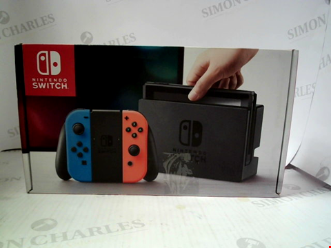 Lot 3087 NINTENDO SWITCH GAMES CONSOLE