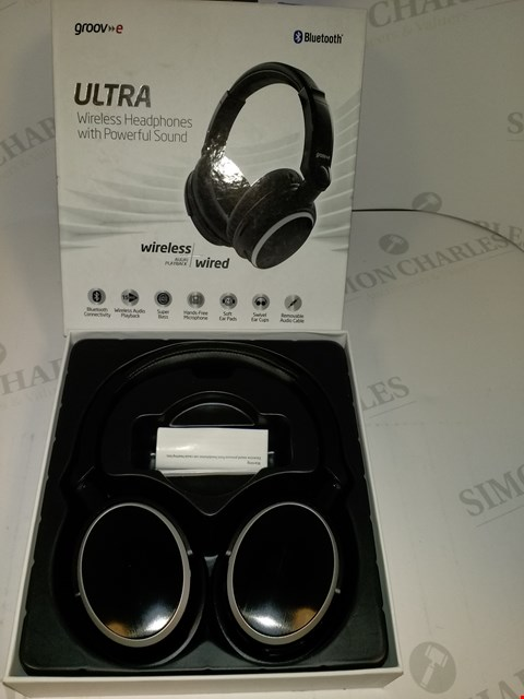 Lot 17533 GROOV-E ULTRA WIRELESS HEADPHONES