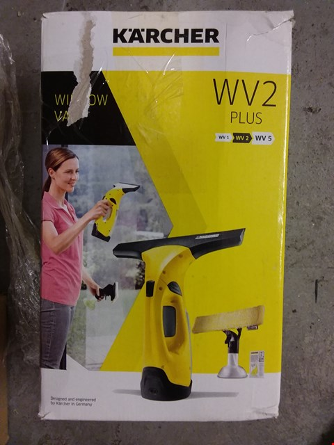Lot 8368 KARCHER WV2 PLUS WINDOW VAC