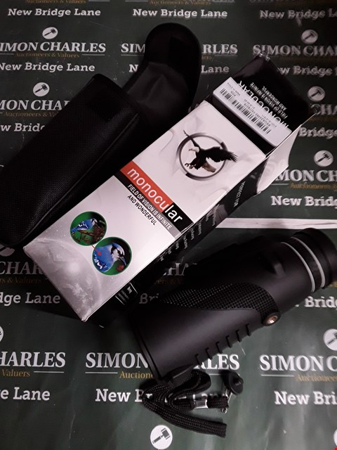 Lot 5188 BOXED MONOCULAR WITH SOFT CASE