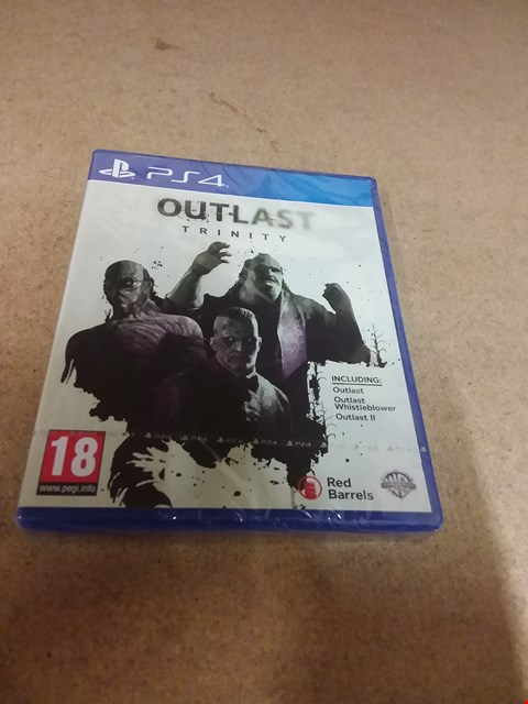 Lot 8204 OUTLAST TRINITY PS4 GAME