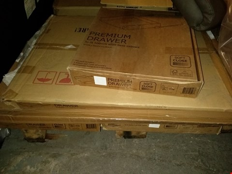 Lot 1160 PALLET OF ASSORTED BOXED FURNITURE PARTS