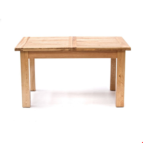 Lot 10060 BOXED DESIGNER WILLIS & GAMBIER NORMANDY SMALL EXTENDING DINING TABLE (1 BOX) RRP £859