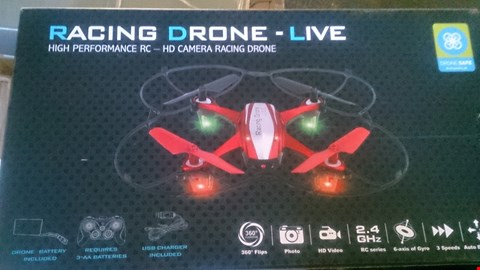 Lot 1116 BOXED RACING DRONE LIVE