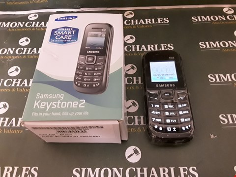 Lot 8026 SAMSUNG KEYSTONE 2 GT-E1205Y MOBILE PHONE