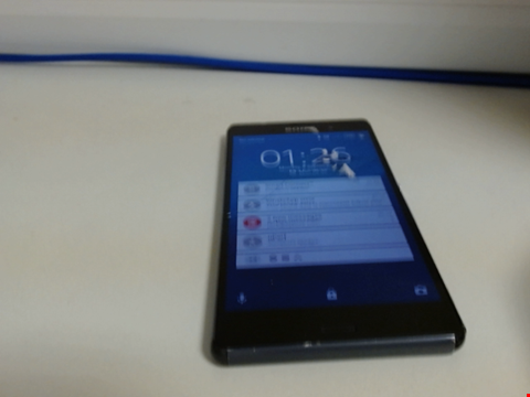 Lot 7578 SONY XPERIA Z3 SMART PHONE CAPACTIY UNKNOWN