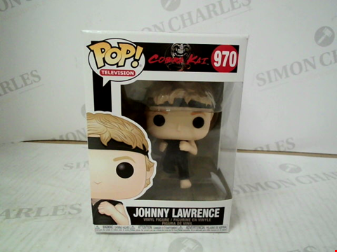 "Lot 3086 POP! COBRA KAI ""JOHNNY LAWRENCE"" VINYL FIGURE"