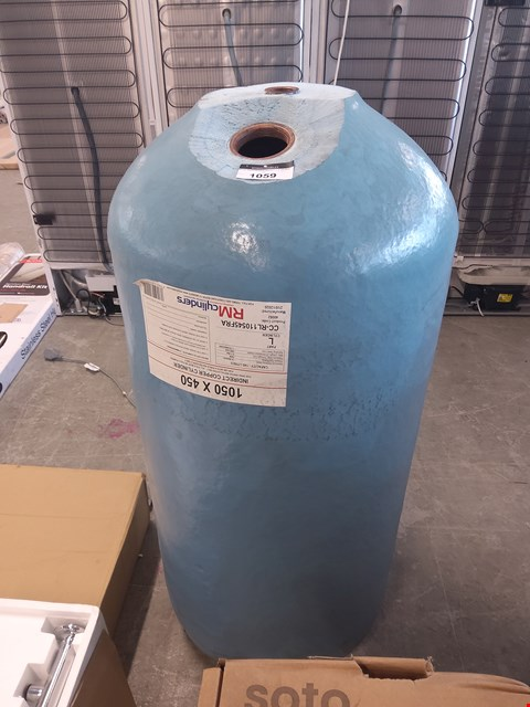 Lot 1059 INDIRECT HOT WATER CYLINDER 1050X450  RRP £150.00
