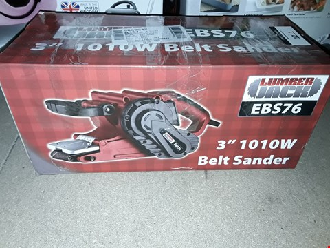 Lot 1211 LUMBERJACK 3 INCH 1010W BELT SANDER