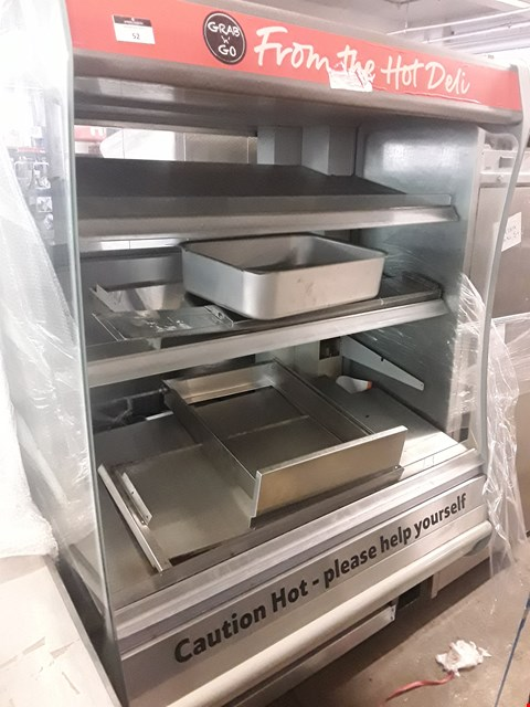 Lot 52 TS HOT FOOD SELF SERVICE DISPLAY CABINET 1250mm