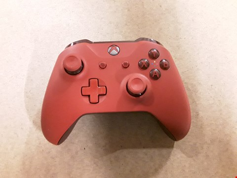 Lot 6156  RED EDITION WIRELESS XBOX ONE CONTROLLER