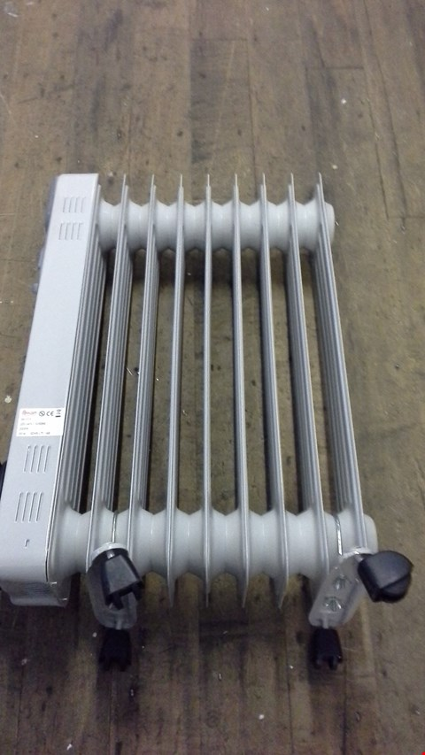 Lot 270 SWAN OIL FILLED RADIATOR WITH TIMER RRP £70.00