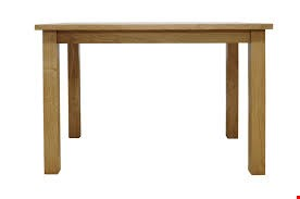 Lot 10023 BOXED DESIGNER CAMBRIDGE OAK DINING TABLE