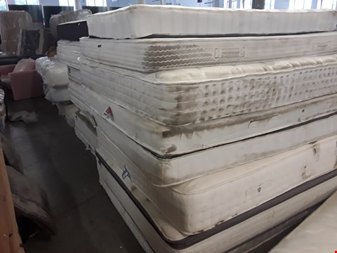 Lot 247 LOT OF APPROXIMATELY 14 ASSORTED UNBAGGED MATTRESSES OF VARIOUS SIZES
