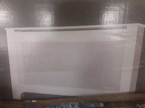 Lot 225 COLOURS MAYFAIR WHITE RADIATOR COVER LARGE  RRP £80