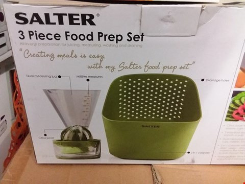 Lot 662 BOXED SALTER 3PC FOOD PREP SET