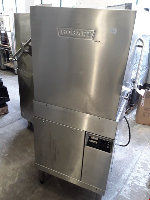Lot 13569 COMMERCIAL STAINLESS STEEL HOBART DISHWASHER