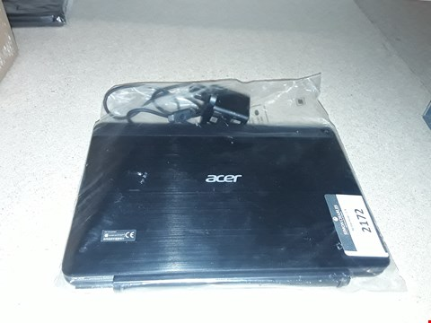 Lot 2172 ACER LAPTOP BLACK (NO BOX)