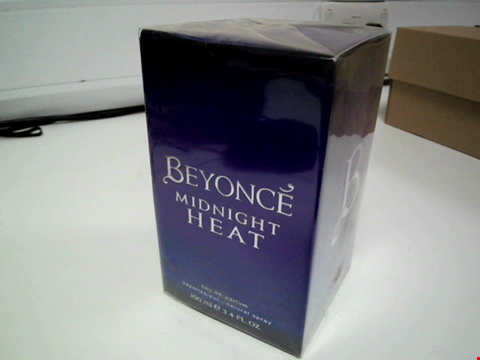 Lot 3532 BRAND NEW SEALED BEYONCE MIDNIGHT HEAT FOR WOMEN 100ML RRP £55.00