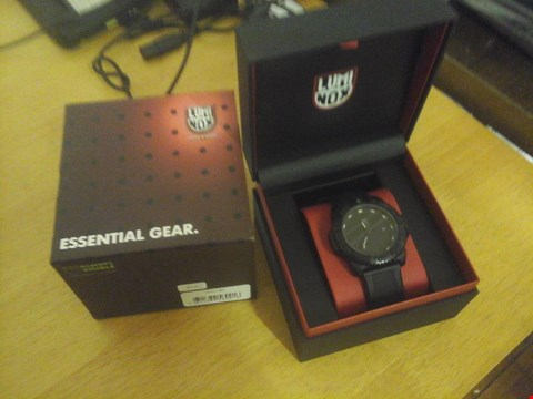 Lot 1570 BOXED LUMINOX STYLE BLACK OUT WATCH