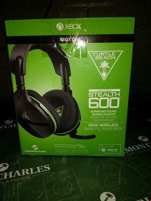 Lot 8342 TURTLE BEACH STEALTH 600 WIRELESS HEADSET RRP £120.00