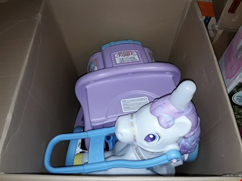 Lot 46 BOXED LITTLE TIKES MAGICAL UNICORN CARRIAGE RRP £149.99