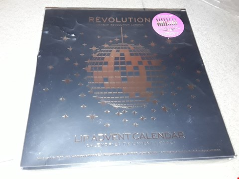 Lot 2006 BOXED REVOLUTION LIP ADVENT CALENDAR