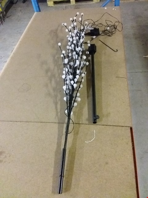 Lot 783 BOXED 6FT TREE WITH BEAD LIGHTS