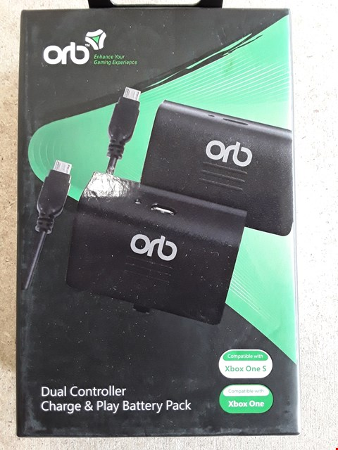 Lot 115 BRAND NEW BOXED ORB XBOX ONE DUAL CHARGE AND PLAY BATTERIES