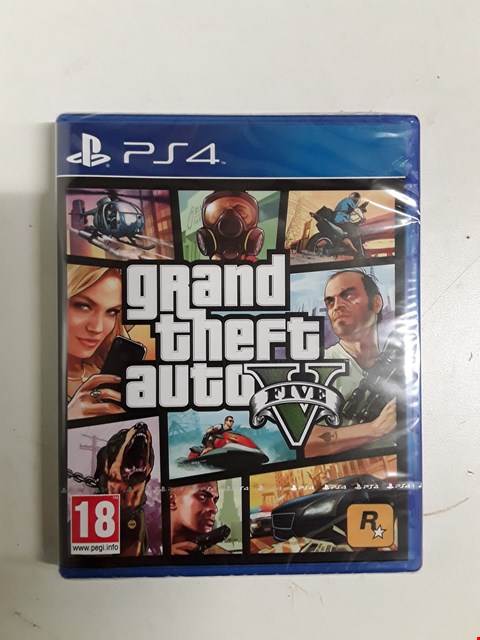 Lot 1528 BRAND NEW BOXED GTA V FOR PS4 RRP £74.99